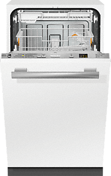 G 4780 SCVi AM - Fully integrated dishwashers with hidden controls, cutlery tray, custom panel handle ready, ADA Compliant--Stainless steel/CleanSteel