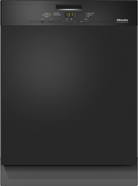 G 4948 SCU AM - Pre-finished, full-size dishwasher with visible control panel, cutlery tray and 5 Programs--Obsidian black
