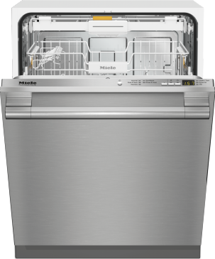 G 4998 SCVi SF AM - Fully-integrated, full-size dishwasher with hidden control panel, cutlery tray and CleanTouch Steel panel--NO_COLOR